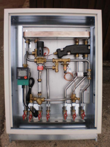 Individual heating sub-station